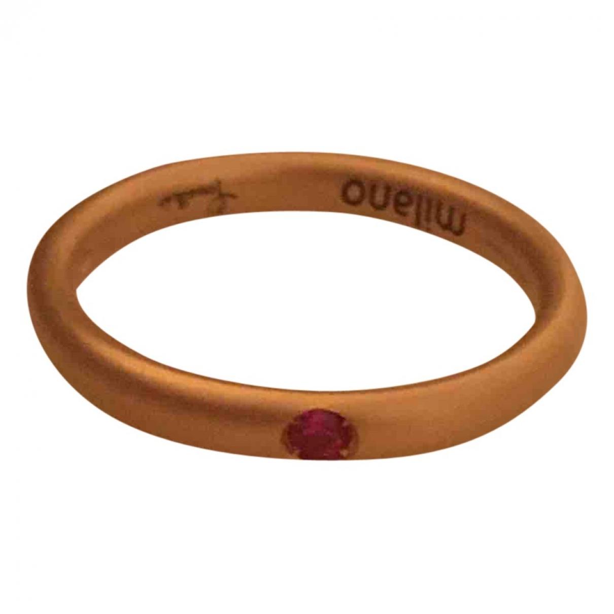 Pomellato - Bague Lucciole pour femme en or rose