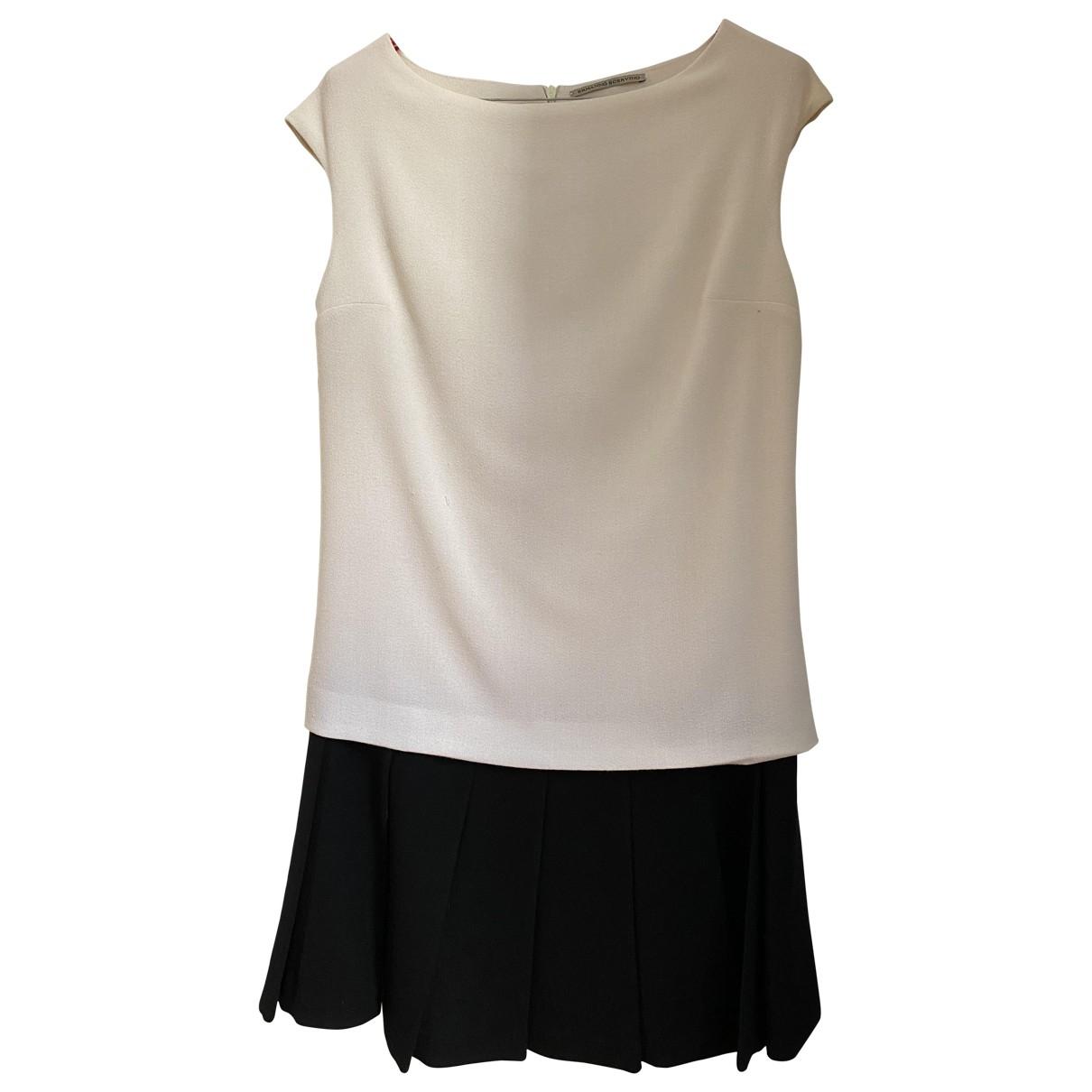 Ermanno Scervino \N White Wool dress for Women 38 IT