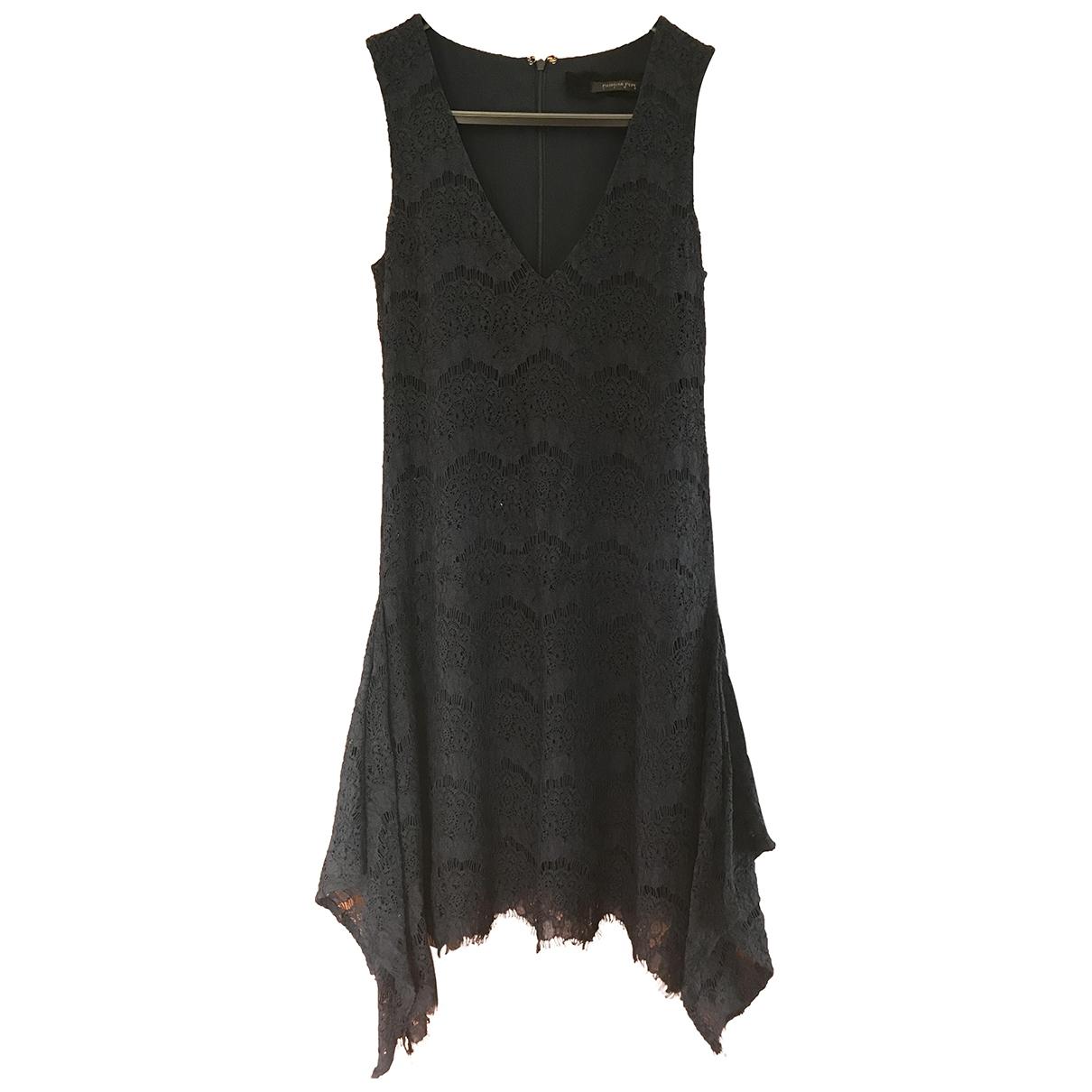 Patrizia Pepe \N Navy Lace dress for Women 42 IT