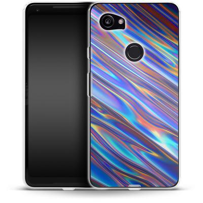 Google Pixel 2 XL Silikon Handyhuelle - Iris von Danny Ivan
