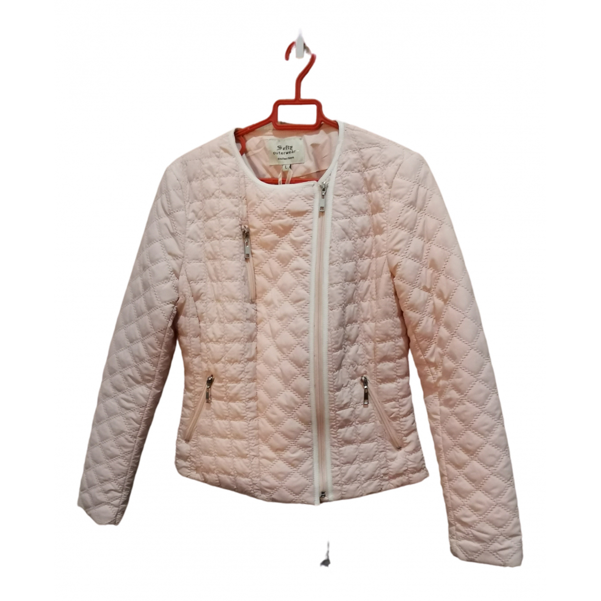 Non Signe / Unsigned \N Jacke in  Rosa Synthetik