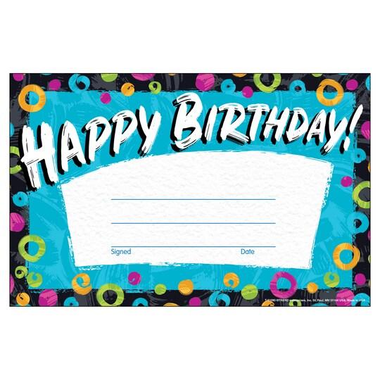 Trend Enterprises® Color Harmony Birthday Awards, 6 Packs Of 30 | Michaels®