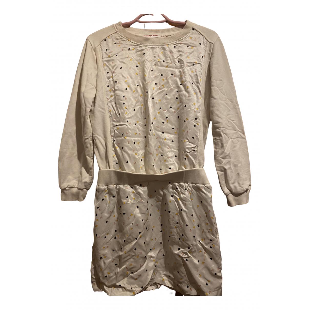 See By Chloe - Robe   pour femme en coton - elasthane - beige