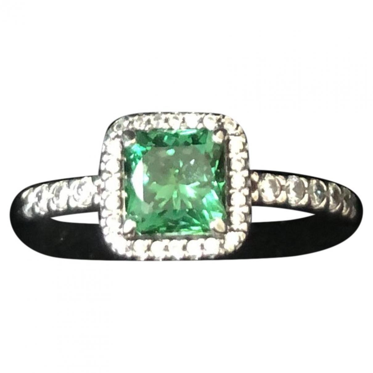 Pandora \N Green Silver ring for Women 50 MM