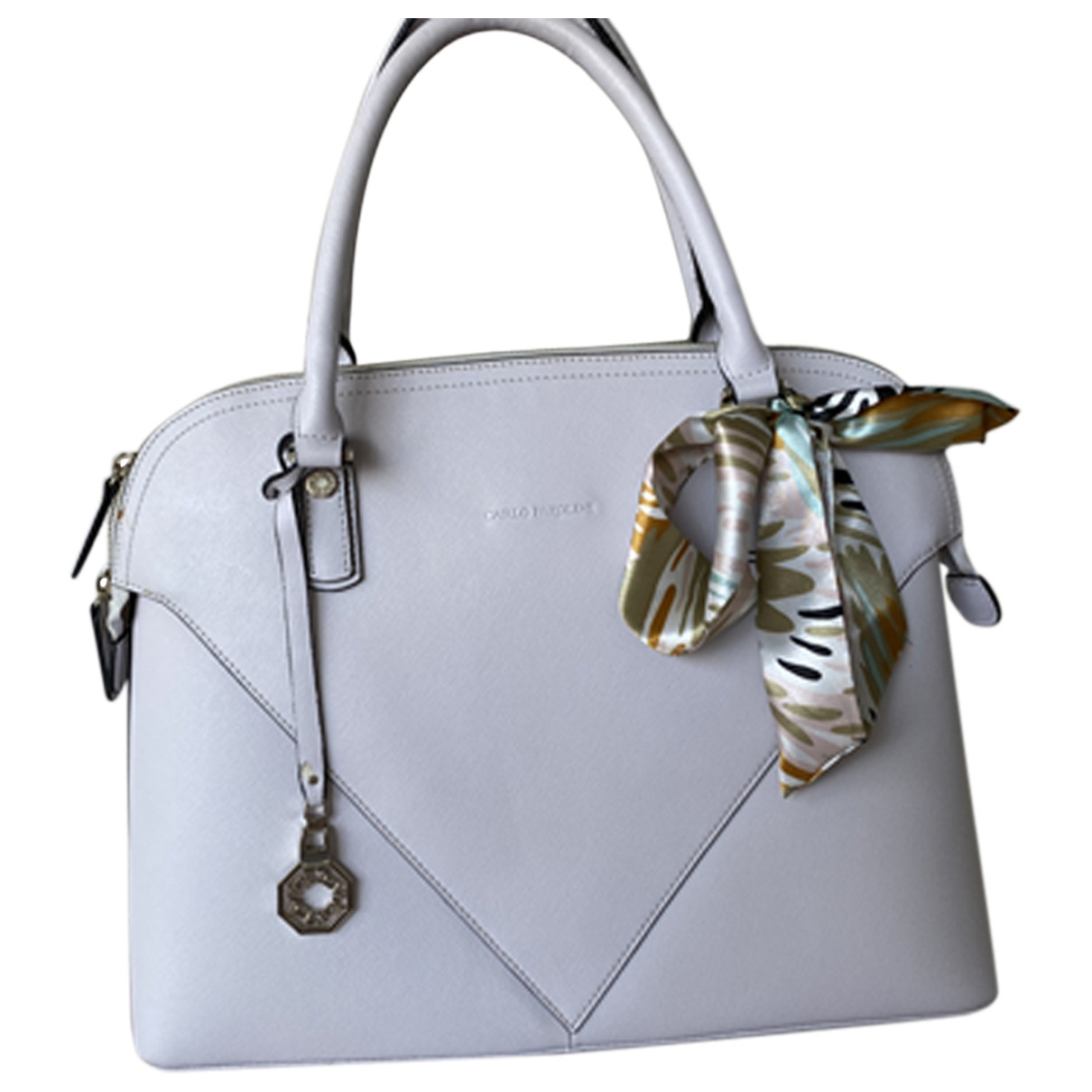 Carlo Pazolini \N Leather handbag for Women \N