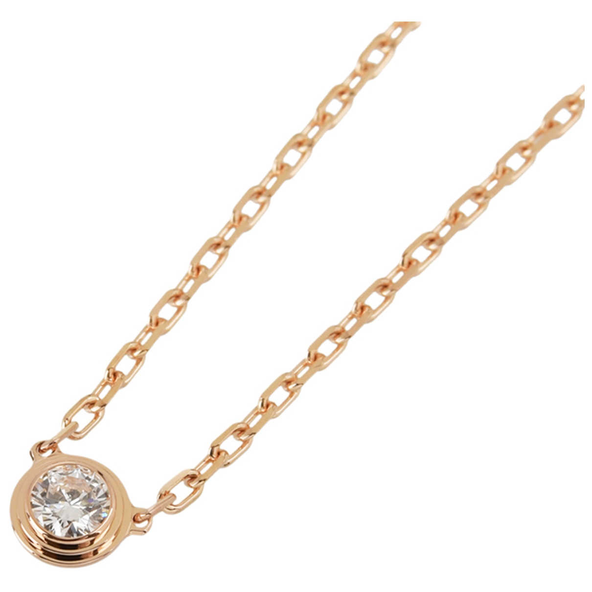 Cartier \N Gold Pink gold necklace for Women \N