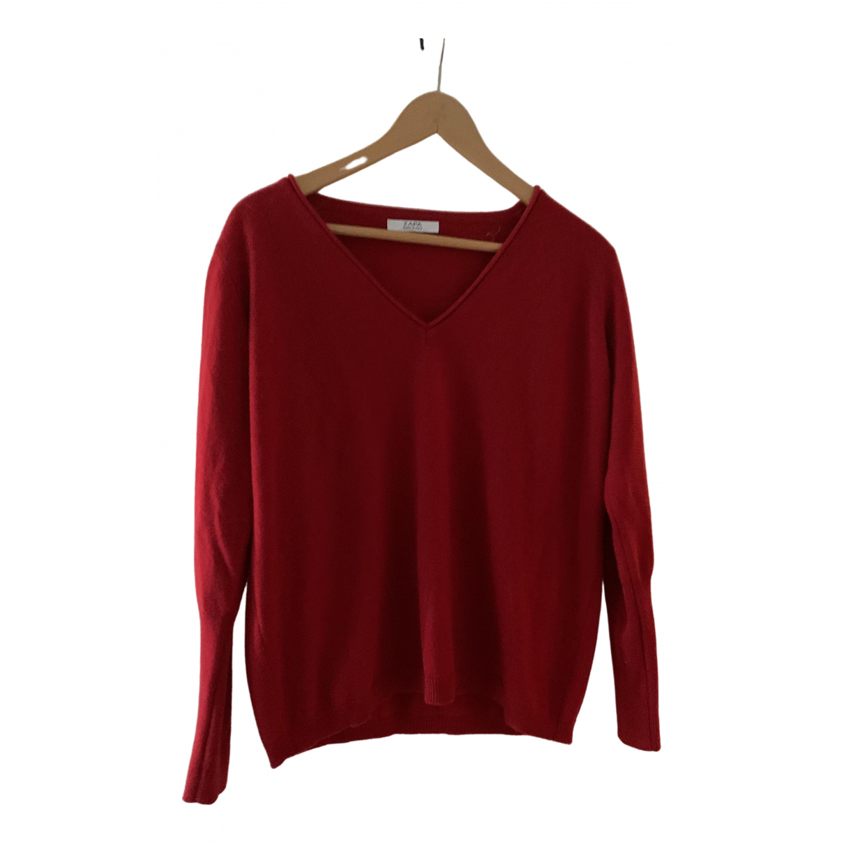 Zapa \N Red Cashmere dress for Women 2 0-5