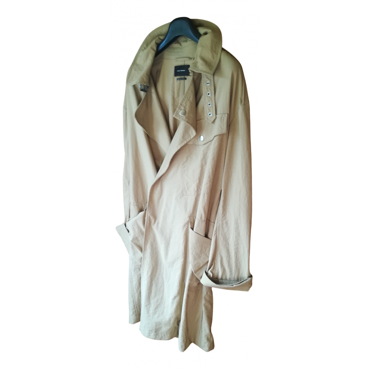 Isabel Marant \N Trench in  Beige Synthetik