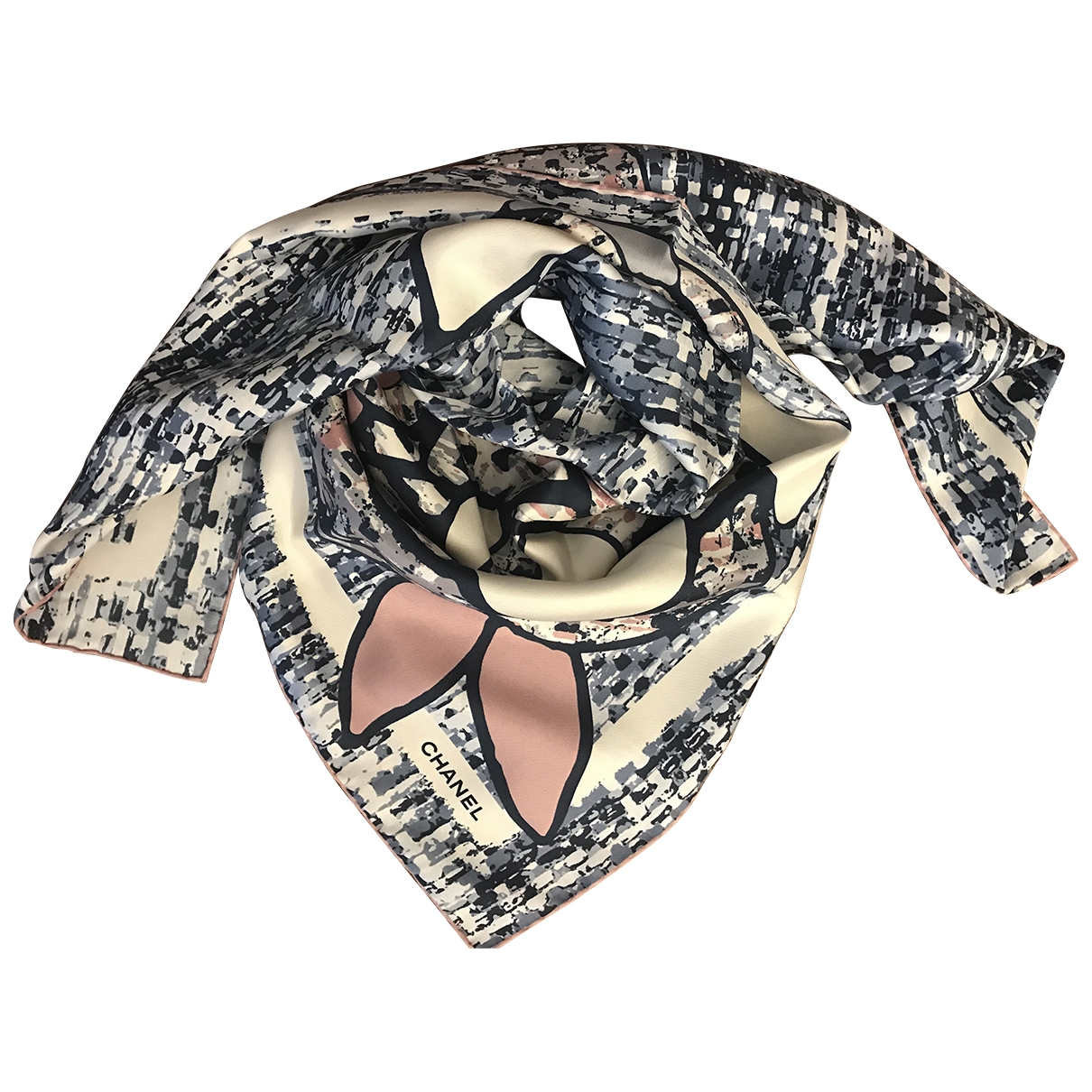 Chanel \N Multicolour Silk Silk handkerchief for Women \N