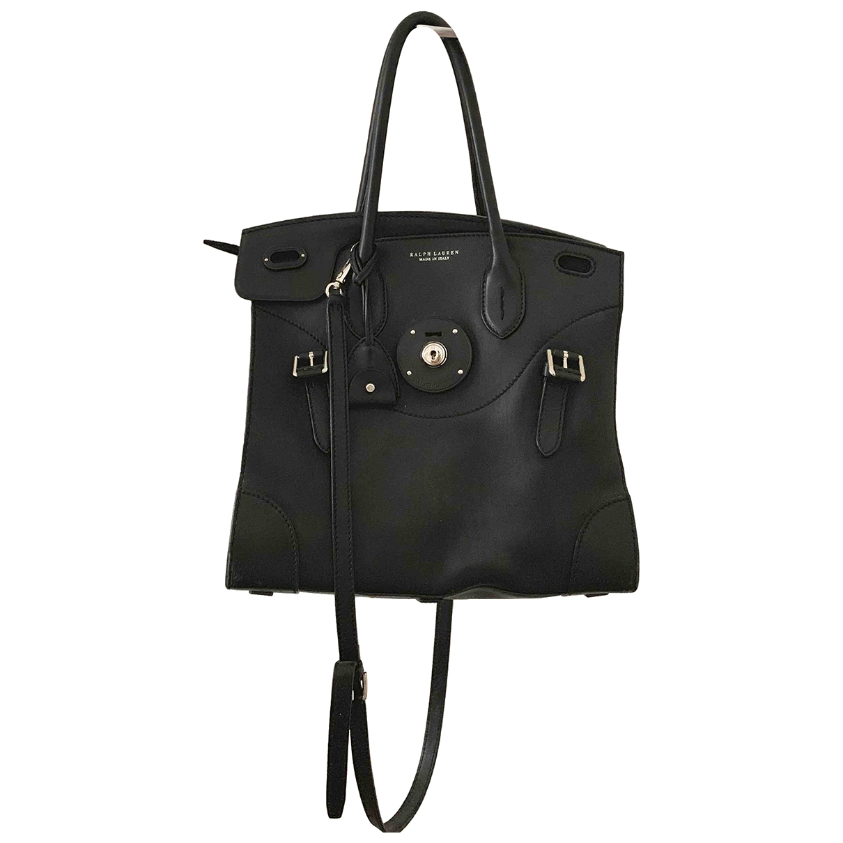 Ralph Lauren Collection \N Black Leather handbag for Women \N