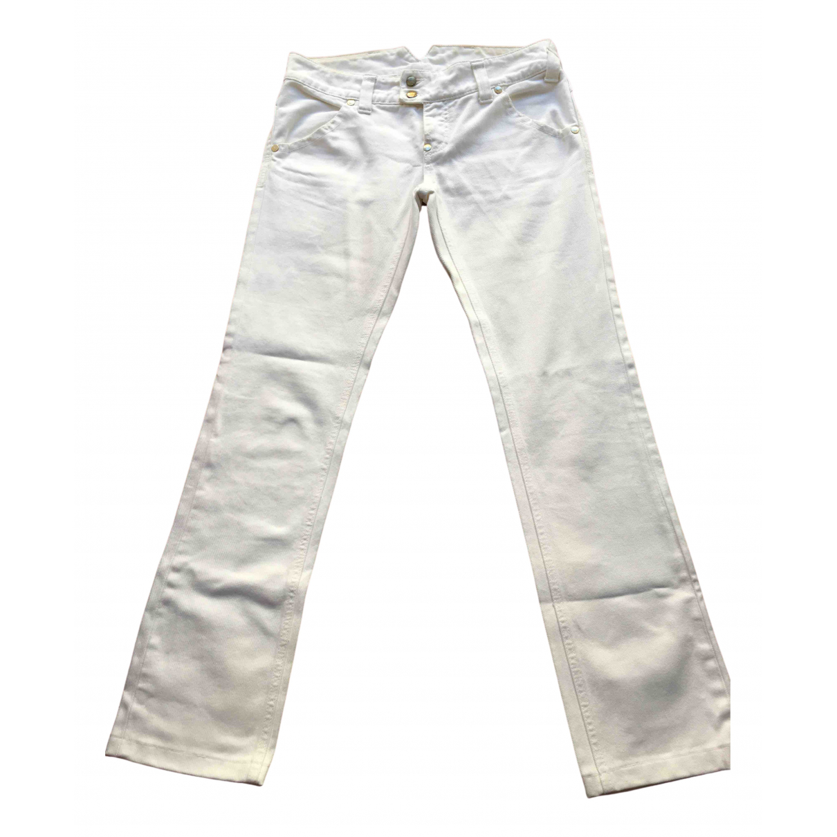 Cycle \N White Denim - Jeans Trousers for Women 40 IT