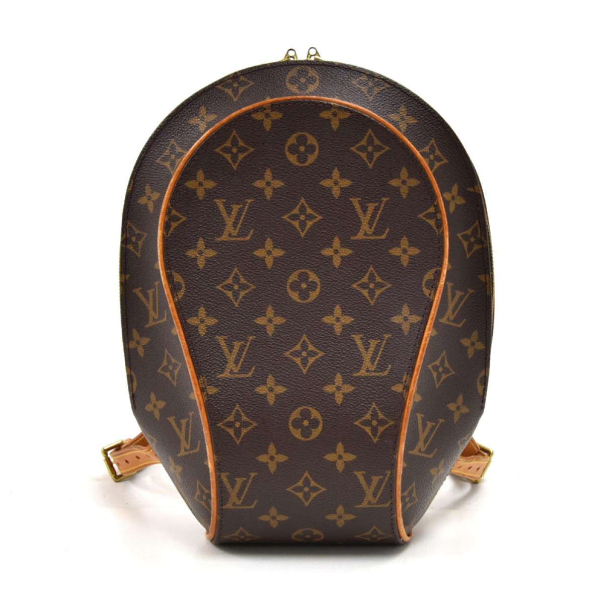 Louis Vuitton Ellipse Rucksaecke in  Braun Leinen