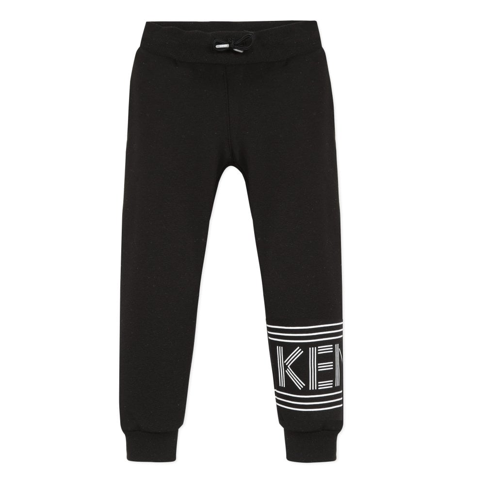 Kenzo Paris Joggers Colour: BLACK, Size: 2 YEARS
