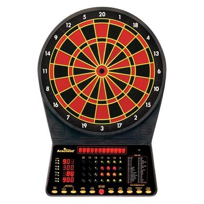 E300ARA Cricket Master 300 13 Target Area Dartboard with 6 Soft-Tip Darts and Extra Tips  AC Adapter  Mounting Hardware  Game Instructions  and