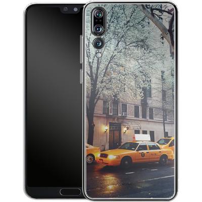 Huawei P20 Pro Silikon Handyhuelle - NYC Yellow Cabs von Omid Scheybani