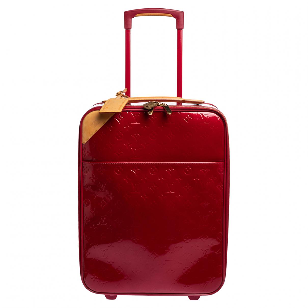 Bolso de viaje Pegase de Charol Louis Vuitton