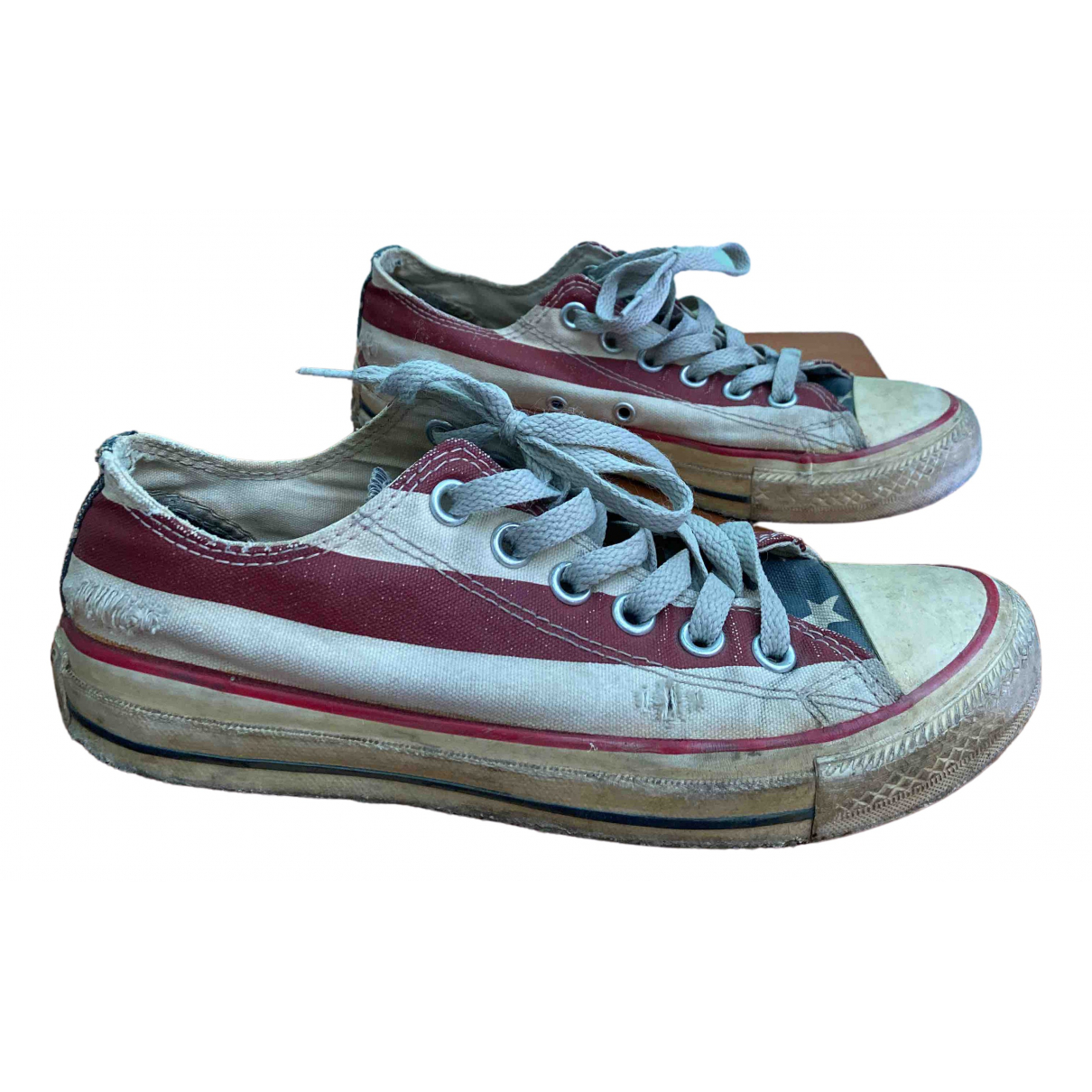 Converse \N Sneakers in  Beige Leinen