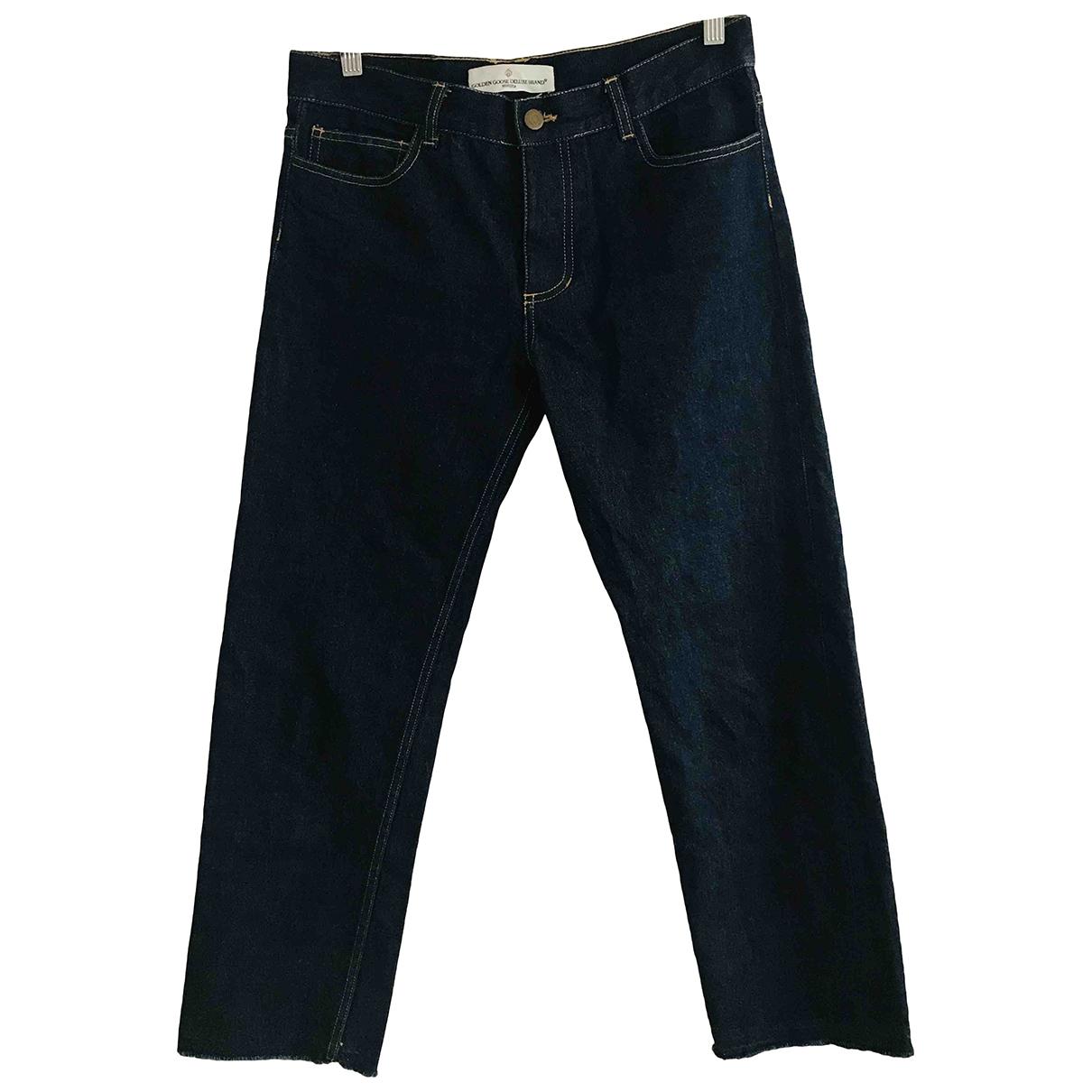 Golden Goose \N Blue Cotton Jeans for Men 38 - 40 FR