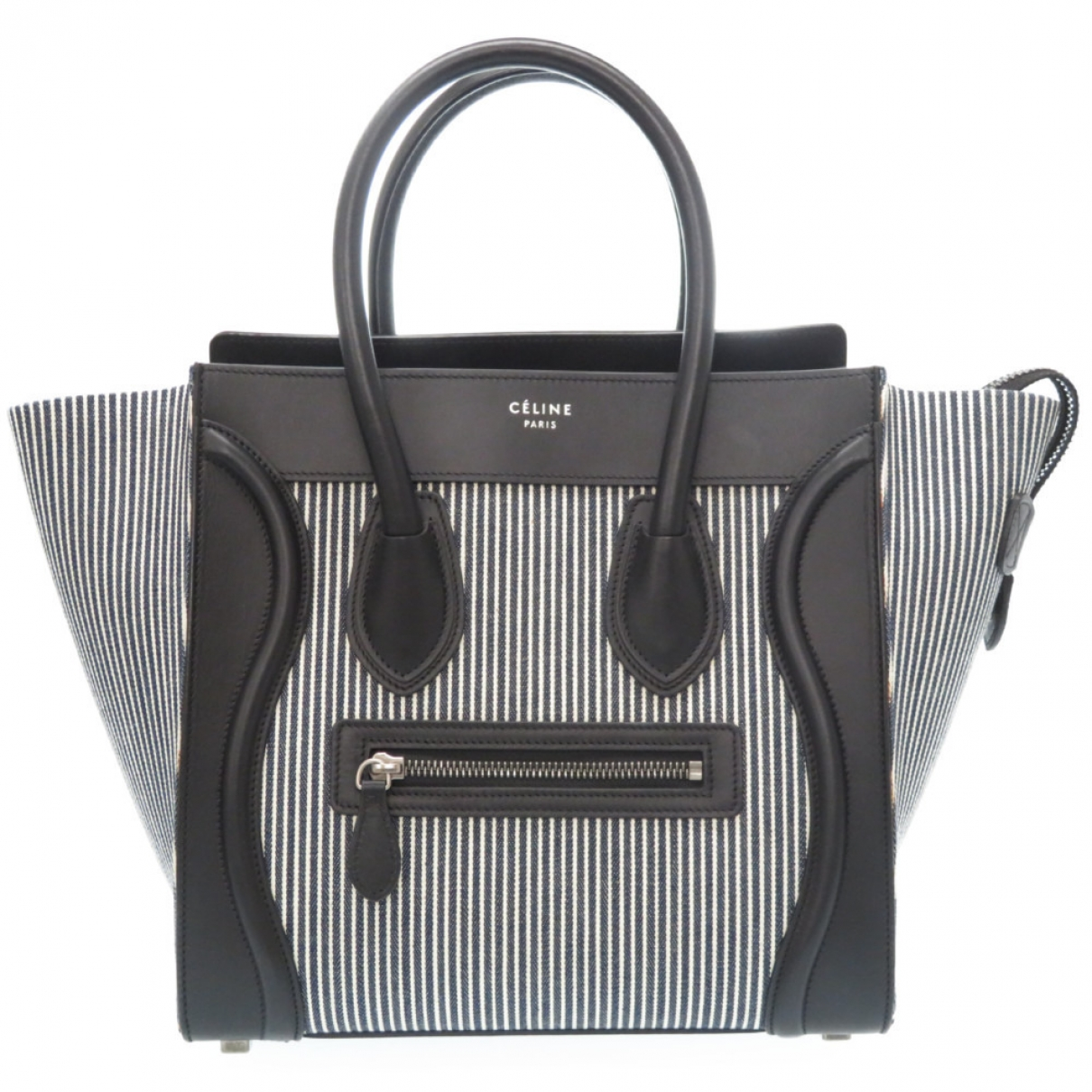 Celine Luggage Black Cloth handbag for Women \N