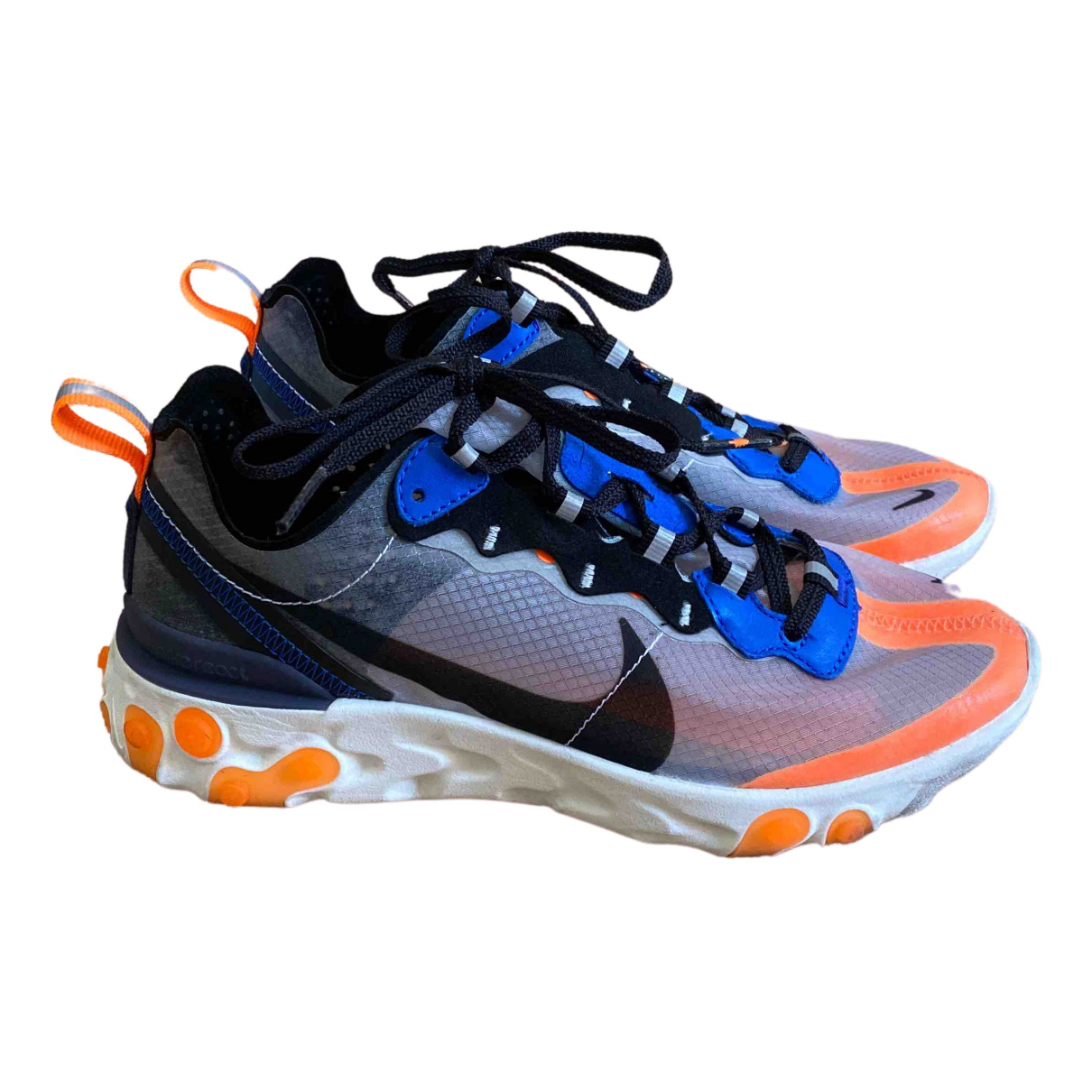 Nike React Element 87  Multicolour Trainers for Women 37.5 EU