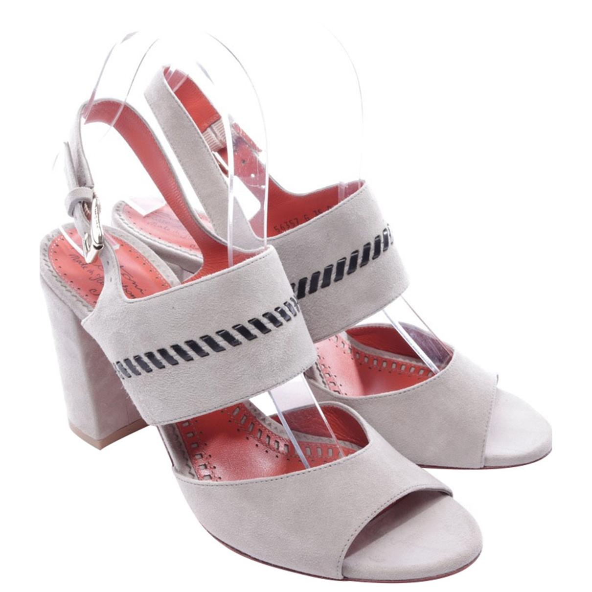 Sandalias de Cuero Santoni