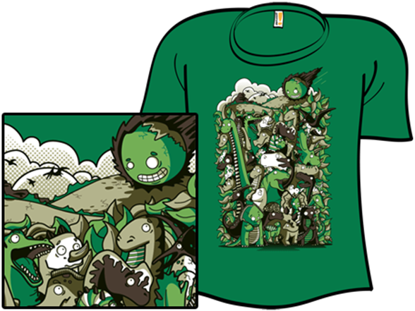 Diplodocus & Cover T Shirt