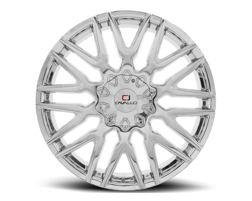 Cavallo CLV-24 Wheel 22x8.5 5x110 5x114.3 38mm Chrome