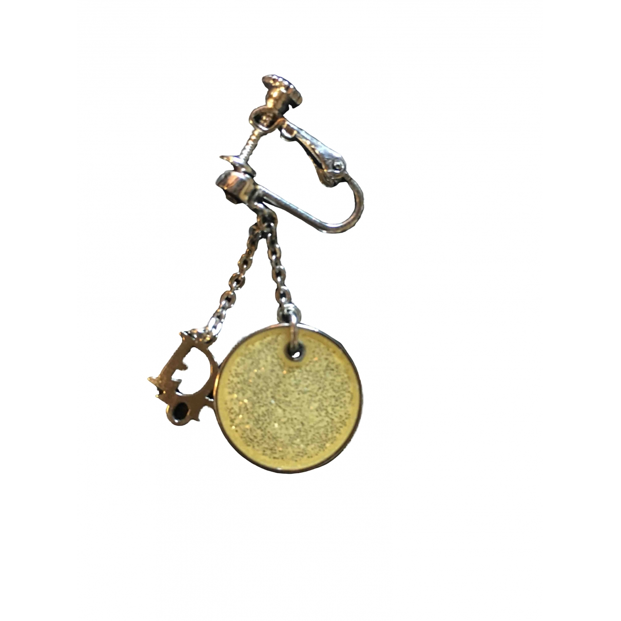 Dior \N Gold Metal Earrings for Women \N