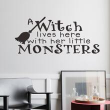 Pegatina de pared con estampado de halloween