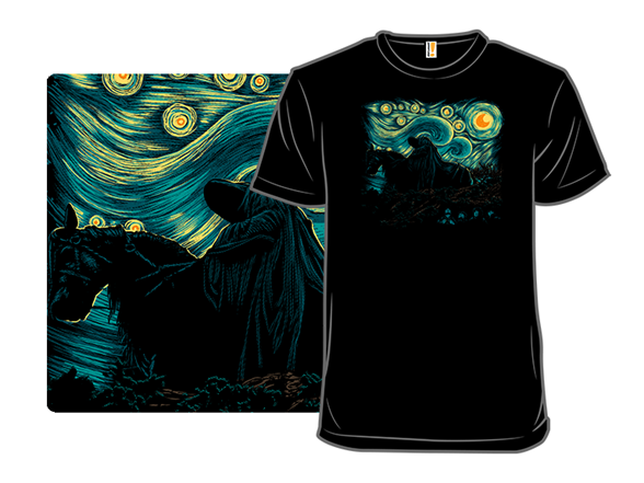 Nightfall In Middle Earth T Shirt