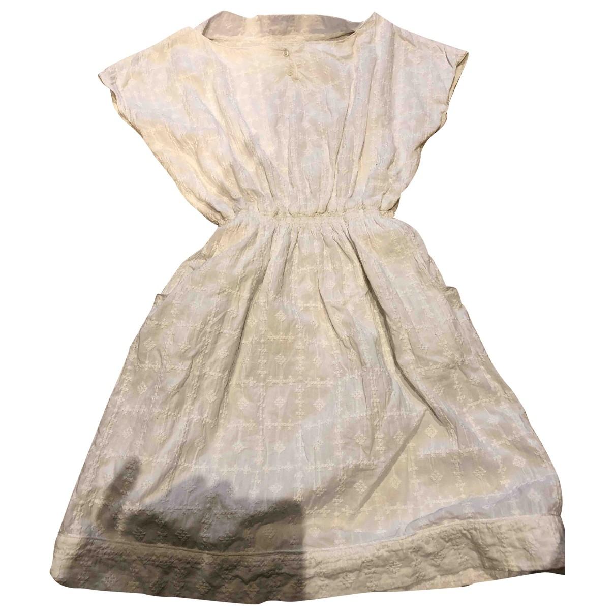 Soeur \N White Cotton dress for Kids 16 years - M FR