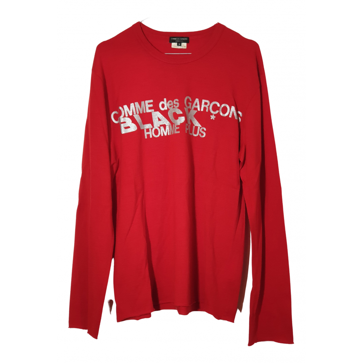 Comme Des Garcons - Tee shirts   pour homme en coton - rouge