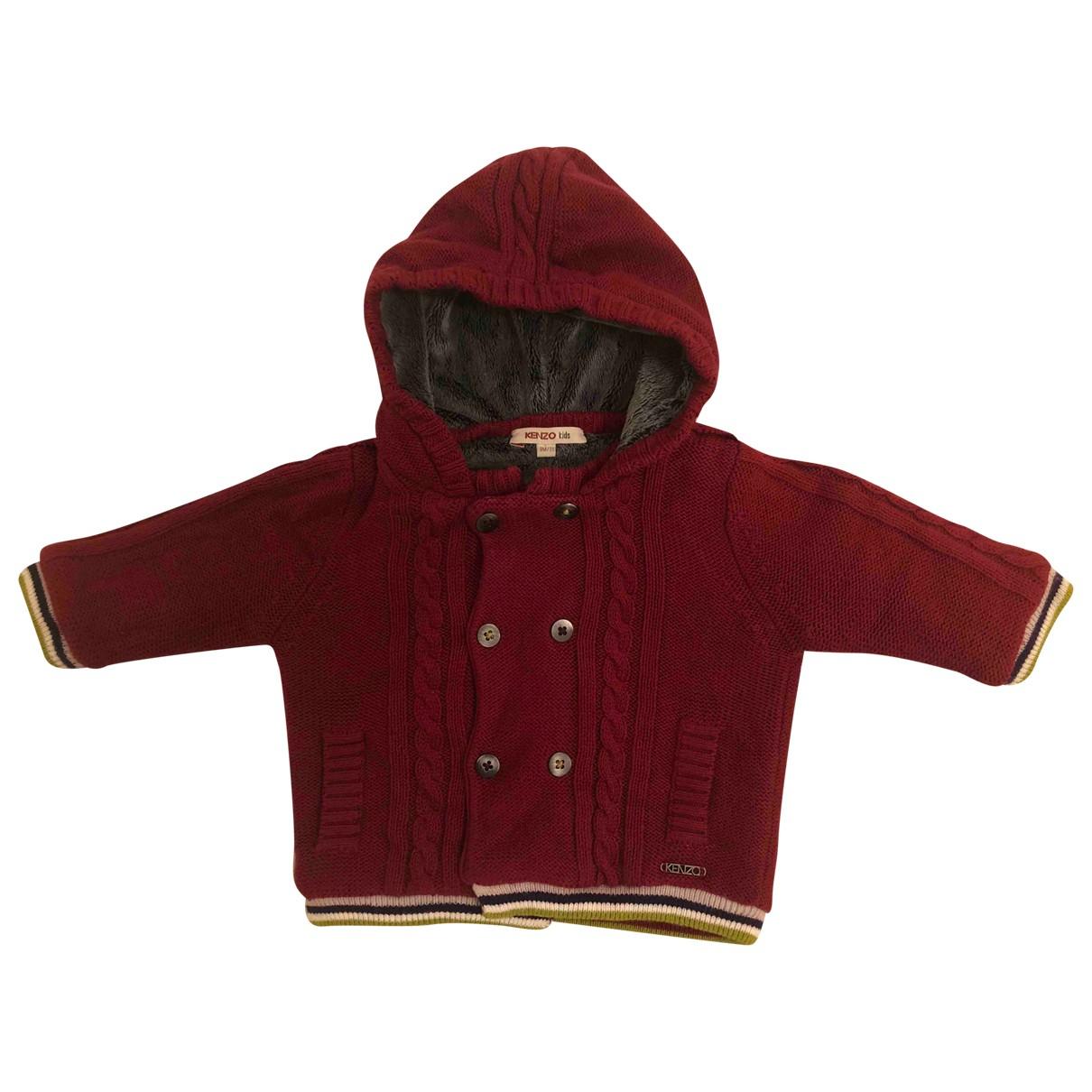 Kenzo - Blousons.Manteaux   pour enfant - bordeaux