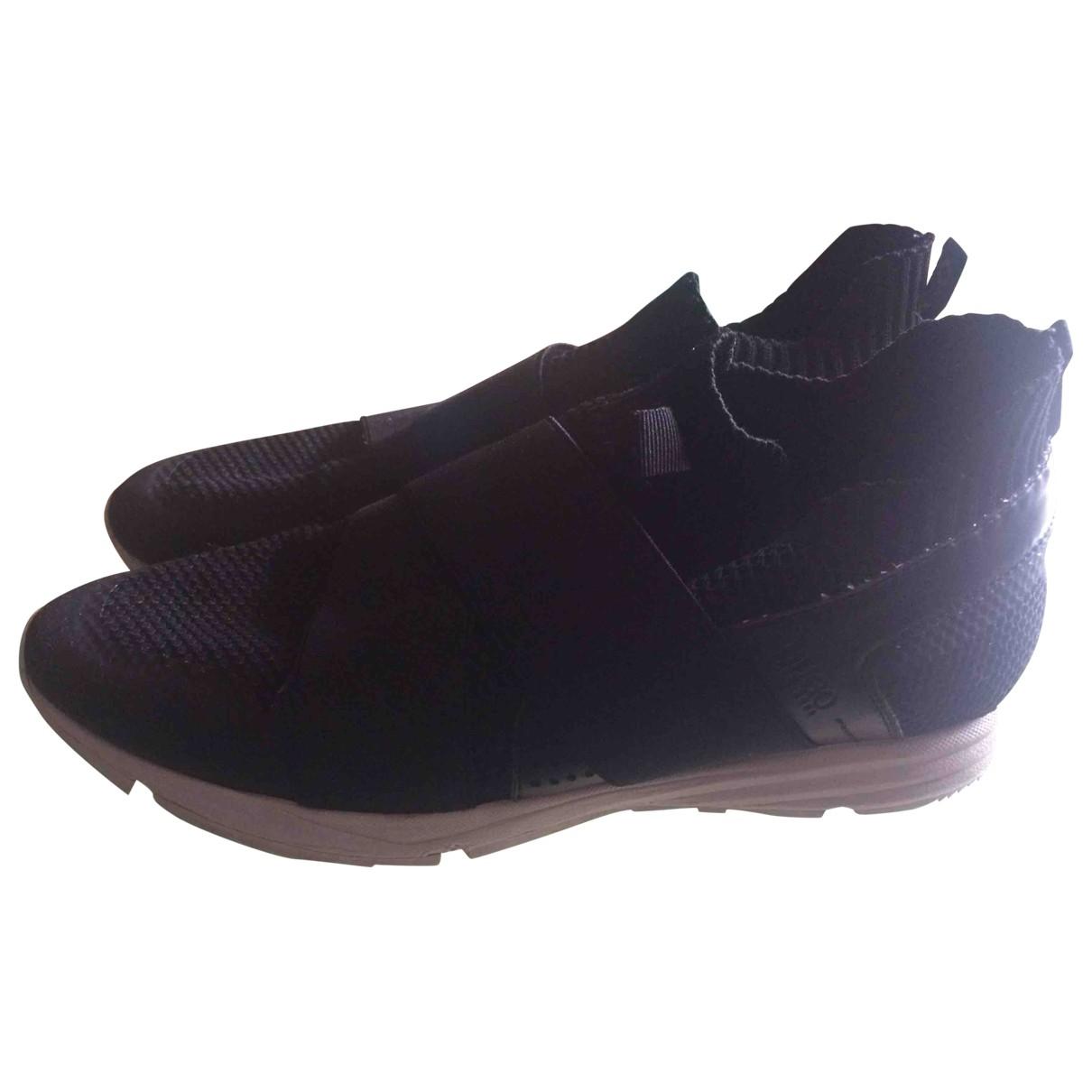 Hugo Boss \N Sneakers in  Schwarz Leinen