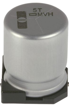 Nippon Chemi-Con 22μF Electrolytic Capacitor 50V dc, Surface Mount - EMVH500ADA220MF80G (10)