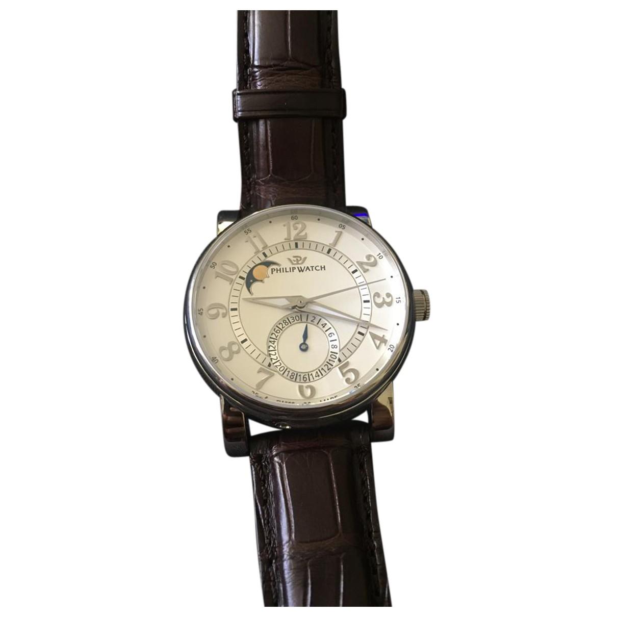 Philippe Watch - Montre   pour homme en acier - argente