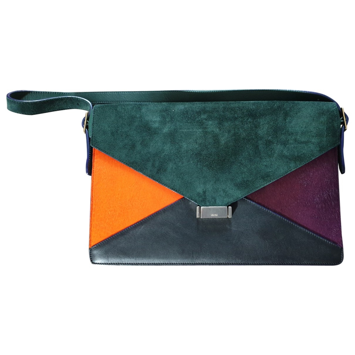 Bolsos clutch Diamond Clutch en Ante Multicolor Celine