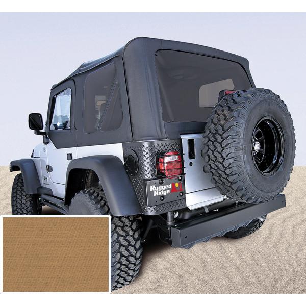 Rugged Ridge 13706.37 Soft Top, Spice, Tinted Windows; 97-02 Jeep Wrangler TJ Jeep Wrangler 1997-2002