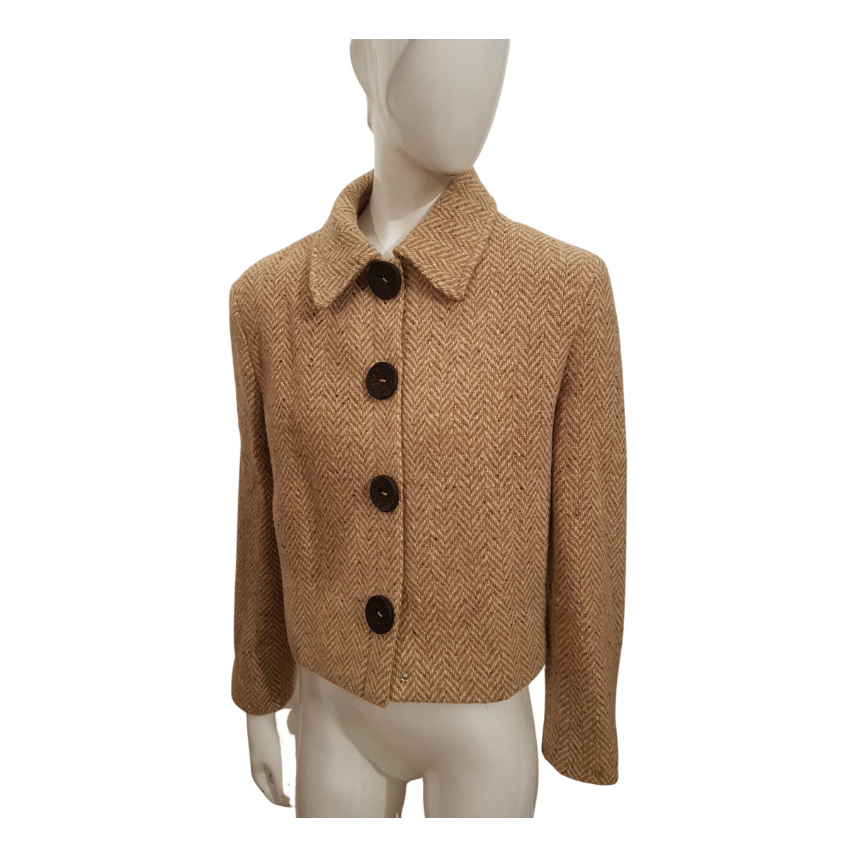 Strenesse - Veste   pour femme en laine - beige