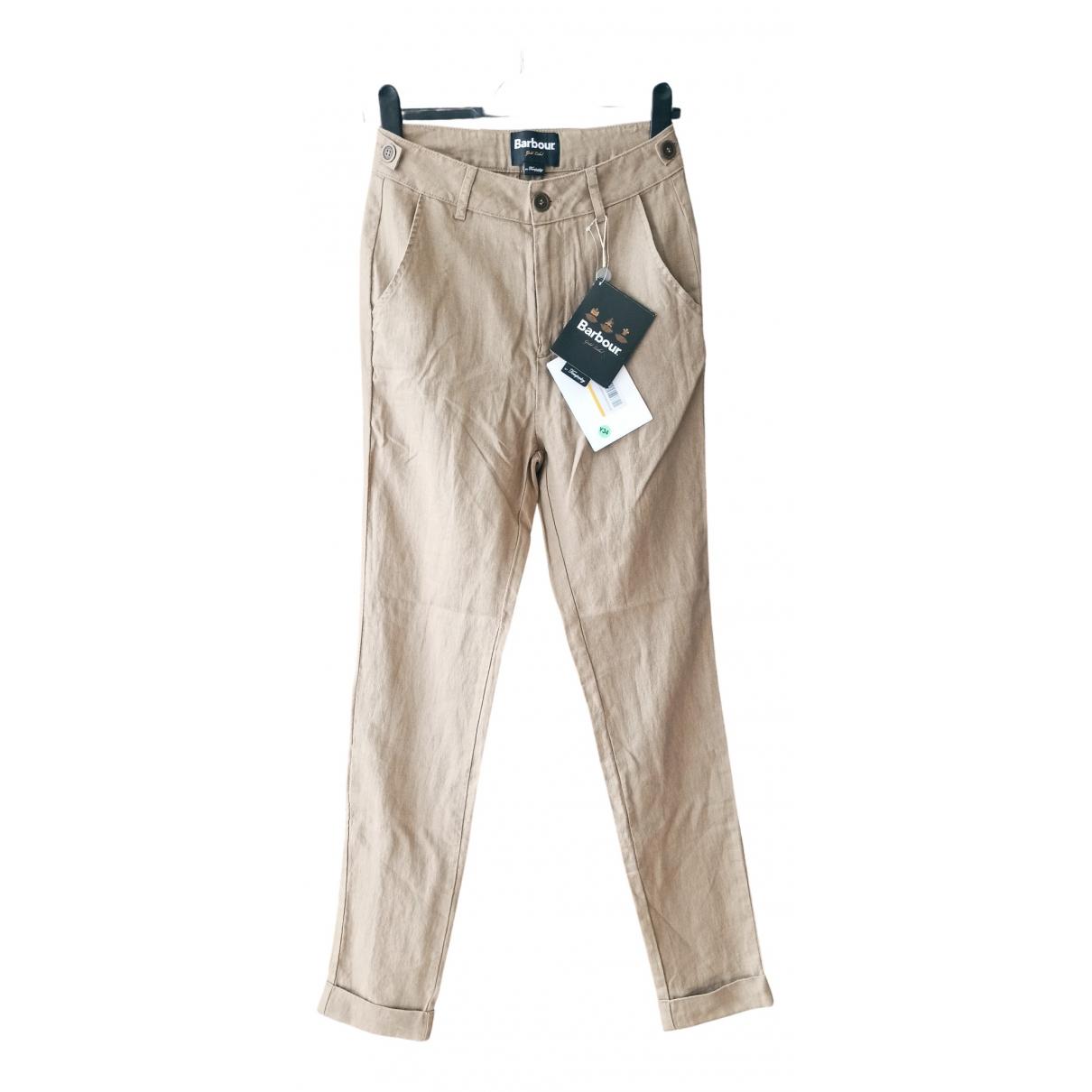 Pantalon de traje de Lino Barbour