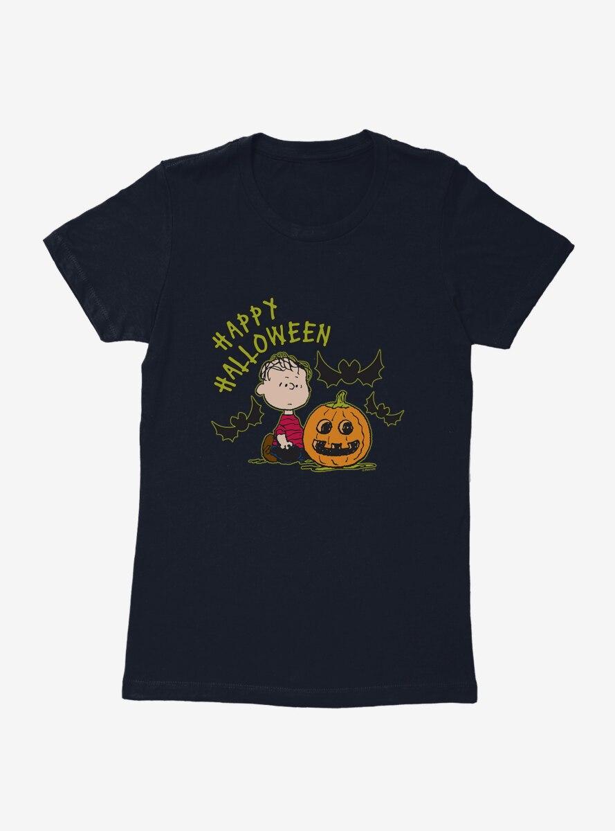 Peanuts Linus Happy Halloween Womens T-Shirt