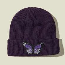 Butterfly Patch Beanie