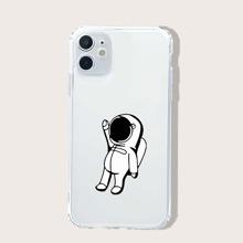 Funda de iphone patron astronauta