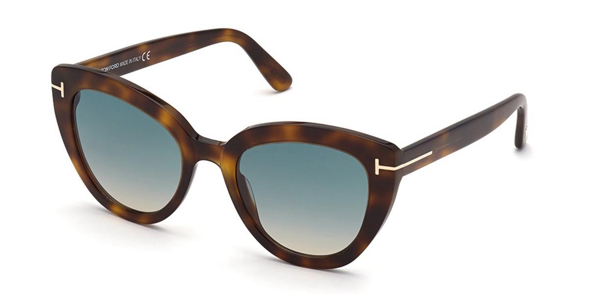 Tom Ford FT0845 Izzi 53P Women's Sunglasses Tortoise Size 53