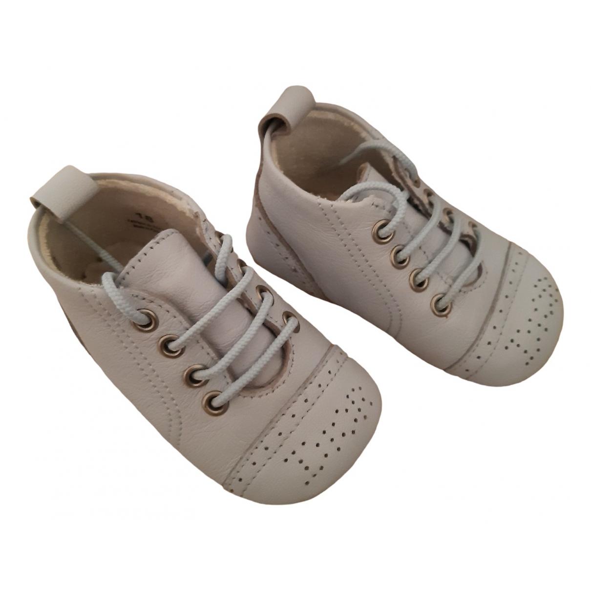 Baby Dior - A lacets   pour enfant en cuir - bleu
