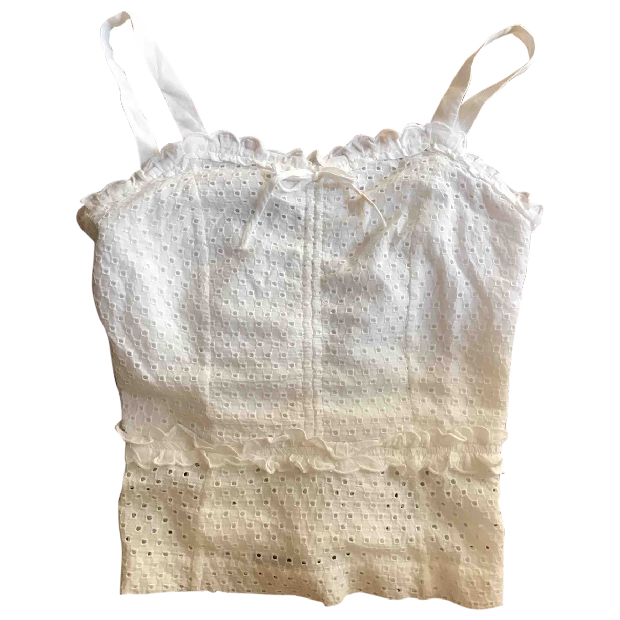 Marc Jacobs \N White Cotton  top for Women 4 US