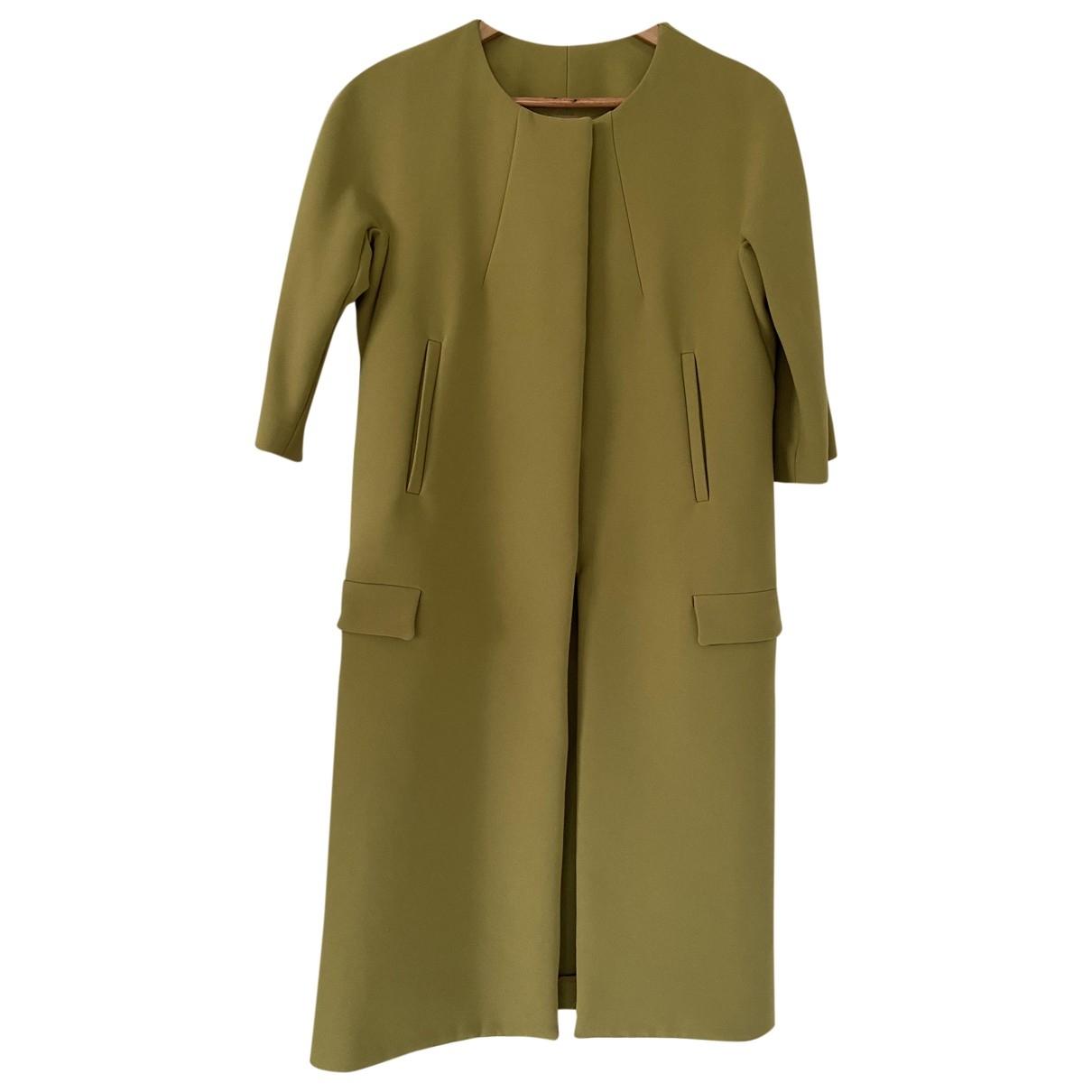 Acne Studios \N Green Cotton coat for Women 36 FR