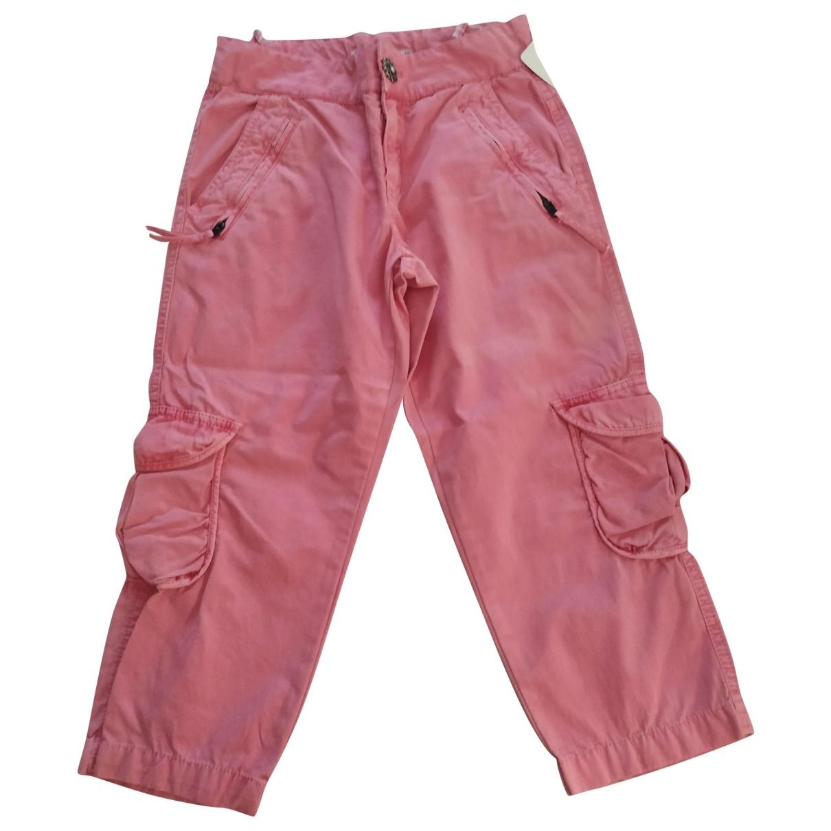 Zara - Pantalon   pour enfant en coton - rose