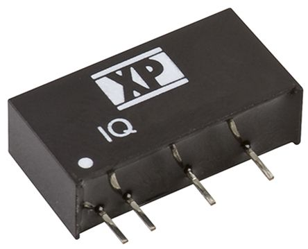XP Power IQ 1W Isolated DC-DC Converter Through Hole, Voltage in 4.5 → 5.5 V dc, Voltage out 12V dc