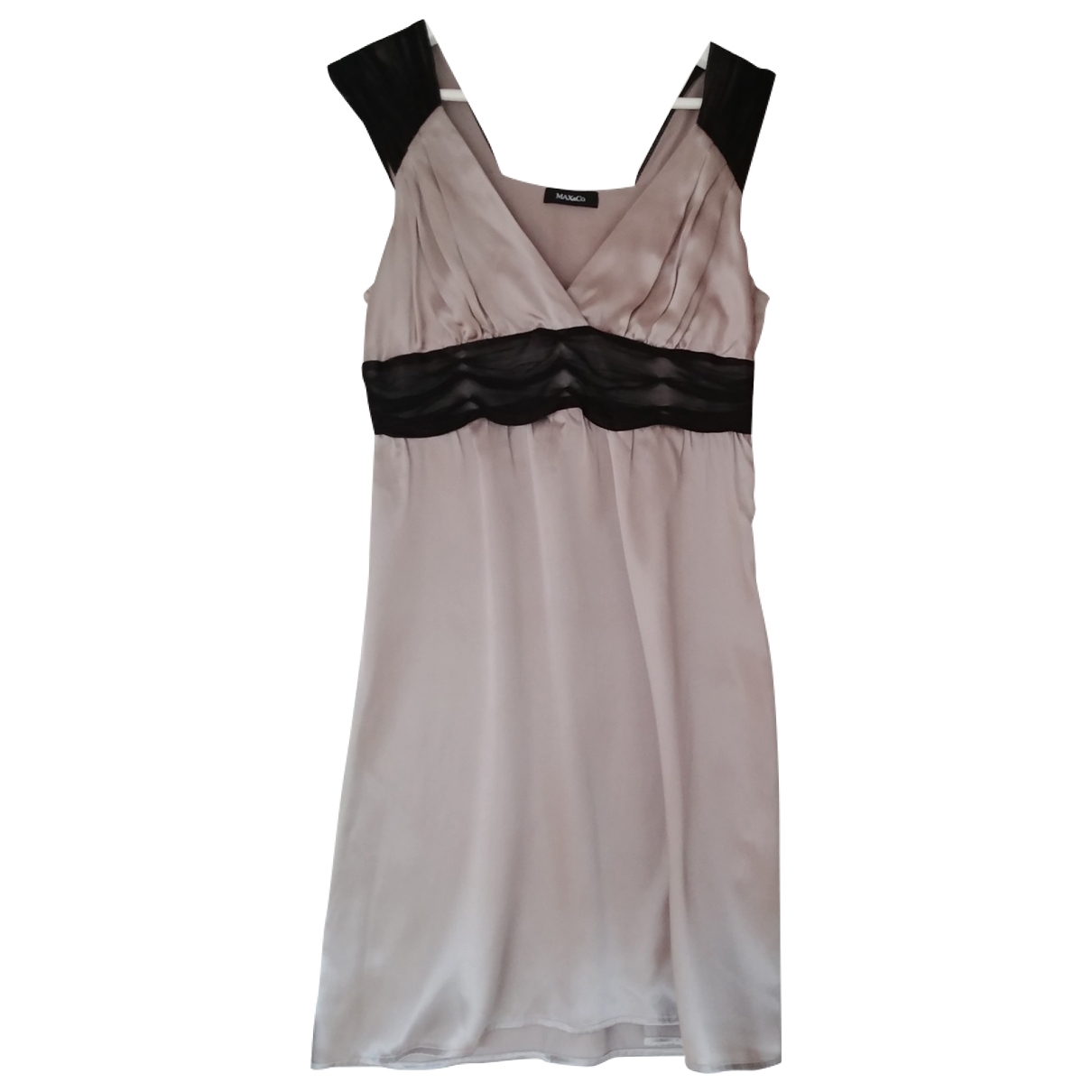 Max & Co \N Pink Silk dress for Women 38 FR